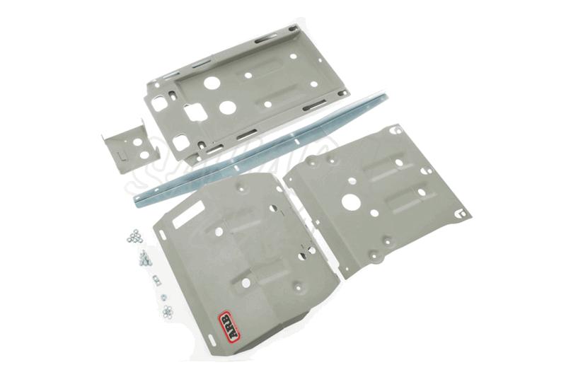 Protector de Bajos Completo ARB 3 mm Acero Navara D-40