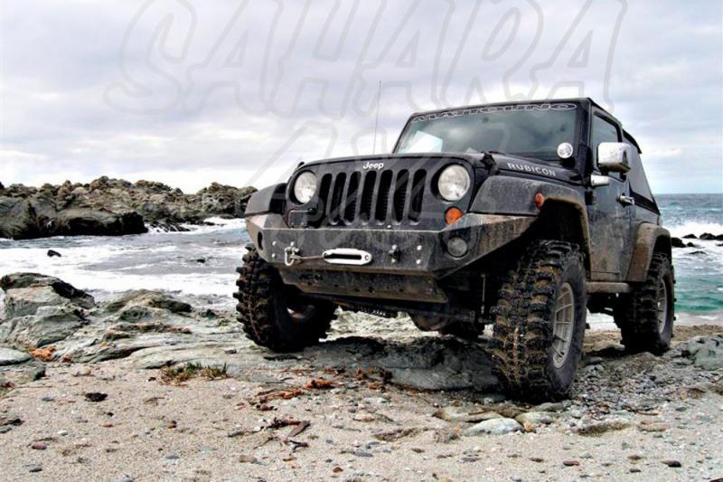 Paragolpes AFN Jeep Wrangler JK - Paragolpes Delantero con Soporte de Winch