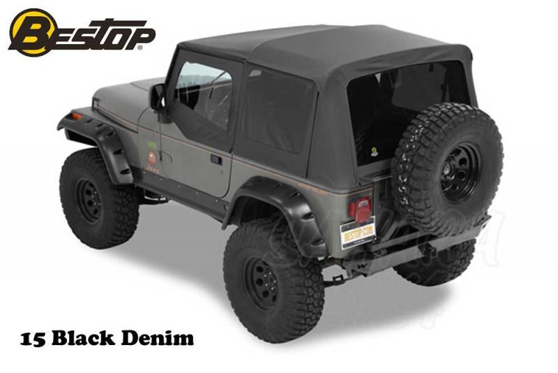 Capota Bestop Supertop NX para Jeep Wrangler YJ 87-95