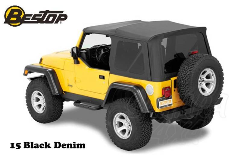 Capota Bestop Supertop NX para Jeep Wrangler TJ 96-02