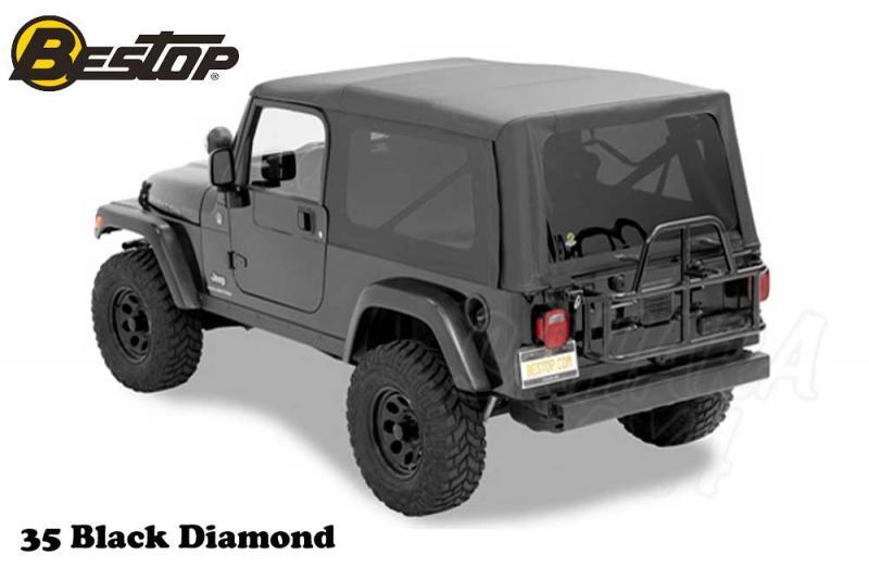 Capota Bestop Supertop NX para Jeep Wrangler TJ Unlimited 04-06