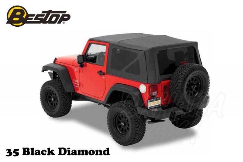 Capota Super Top NX Bestop Jeep Wrangler JK 07-18