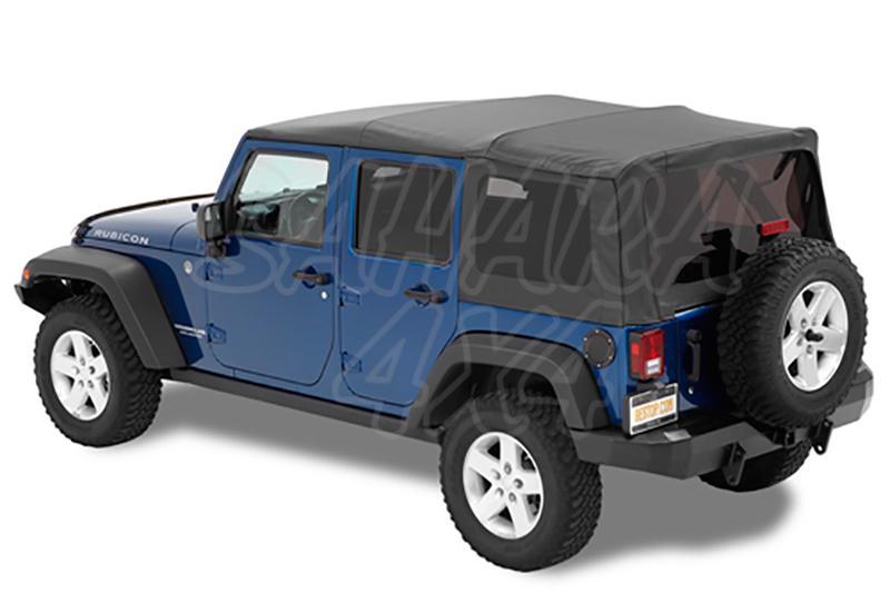 Capota Super Top NX Bestop Jeep Wrangler JK 4 Puertas - Con Sunrider delantero