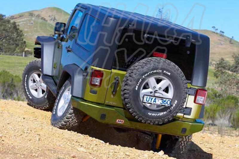 Paragolpes ARB Trasero Jeep Wrangler JK  - Jeep Wrangle JK modelo desde 2006 incluye las tapas cubre huecos no incluidas.