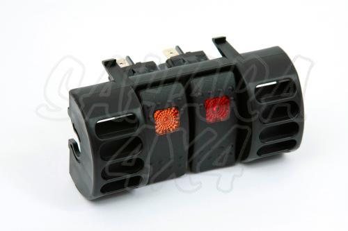 Soporte para interruptores jeep TJ / XJ - Válido para interruptores tipo ARB