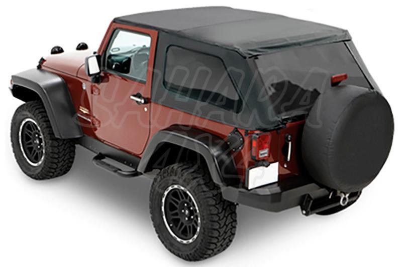 Capota TrekTop NX Bestop Jeep Wrangler JK 3 Puertas - Con Sunrider delantero
