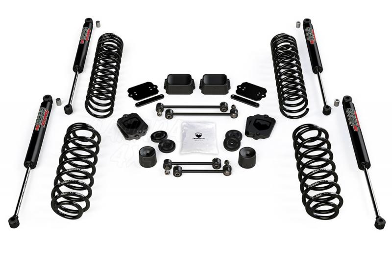 Kit de elevacion + 6.35 cm Teraflex con amortiguadores VSS 9550 para Jeep Wrangler JL