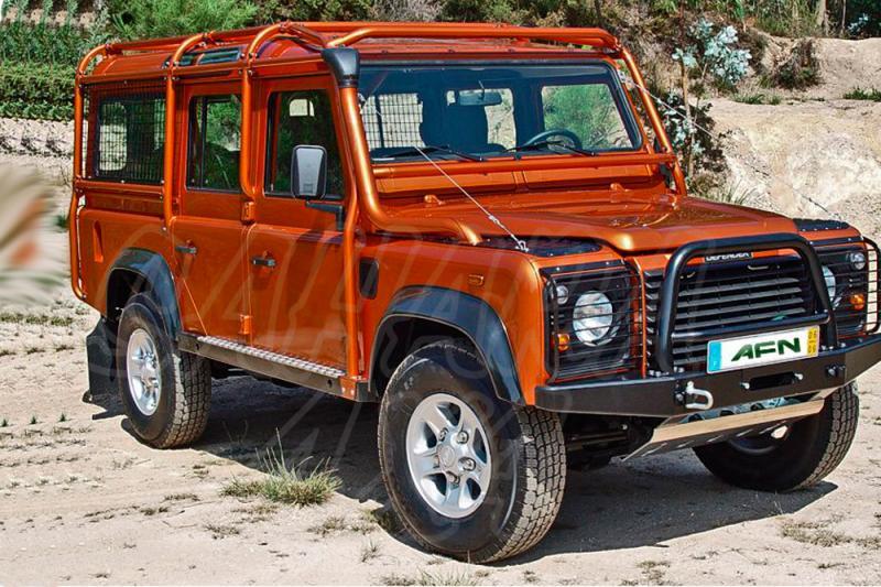 Rollbar (barras antivuelco) exterior en tubo negro Land Rover Defender 110 - Defender 110