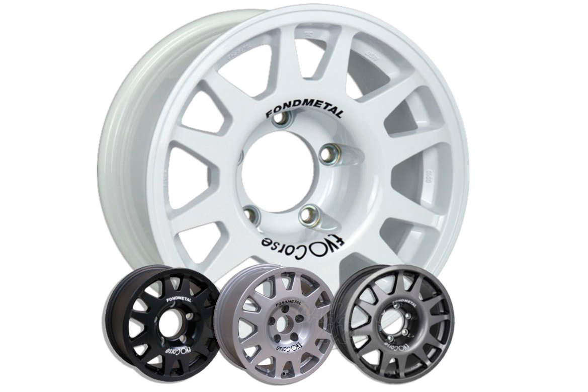 Llanta Evo Corse Dakar Zero 8x17 para Jeep Compass/Patriot - Medida Disponible: 8x17 5x114.3