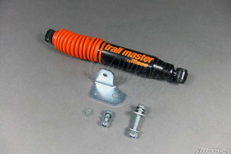 Amortiguador Direccion Trail Master HD con soporte Jeep Wrangler JK - Amortiguador de Direccion
