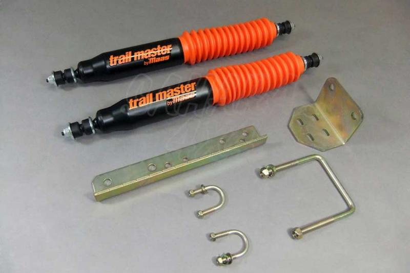 Kit Doble Amortiguador Direccion Trail Master Jeep Wrangler