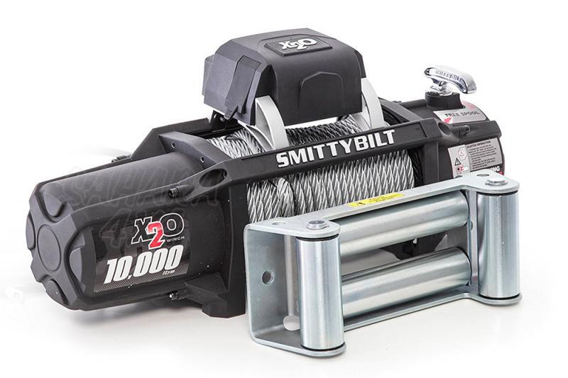 Cabrestante Smittybilt X20 Gen2 10.000 LBS Control Remoto - 4.536 Kg 12 v