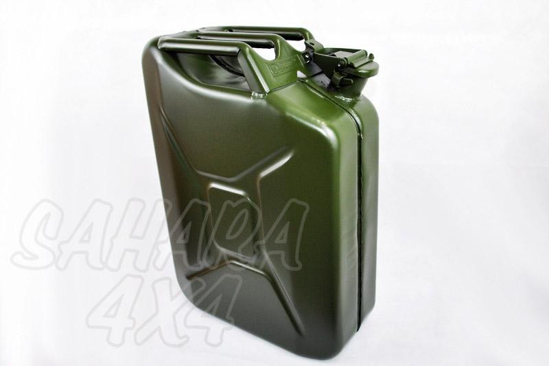 Bidon 20 L metalico tipo Aleman Verde - Bidon Metalico militar