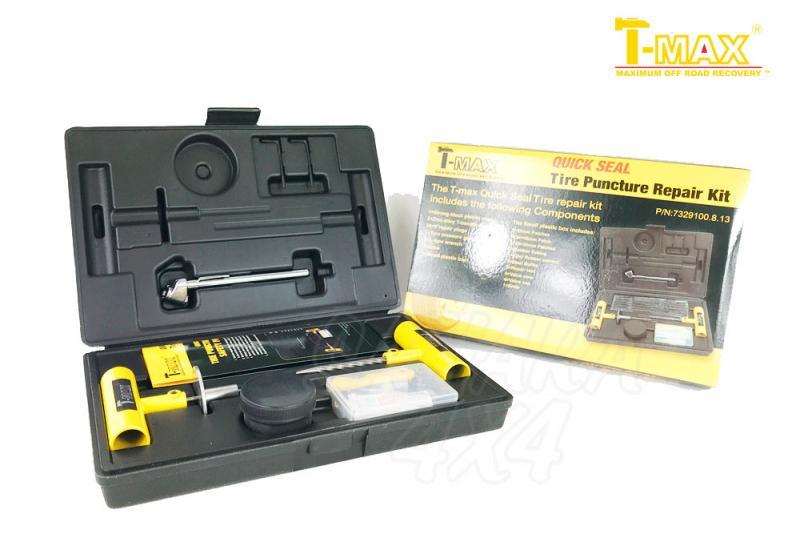 Reparapinchazos T-MAX Quick Seal  - Kit de reparapinchazos para neumatico tubeless
