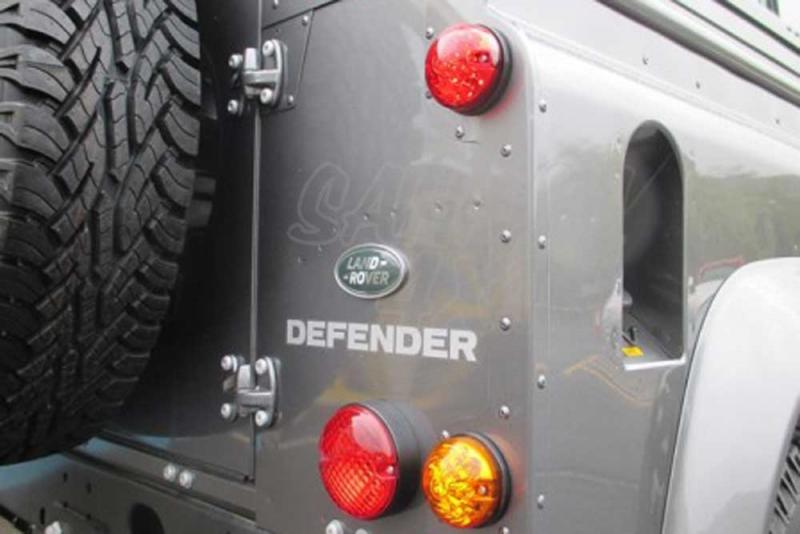 Luces delanteras LED 73mm , para Land rover Defender - Lamparas delanteras LED con diseño tipo original.