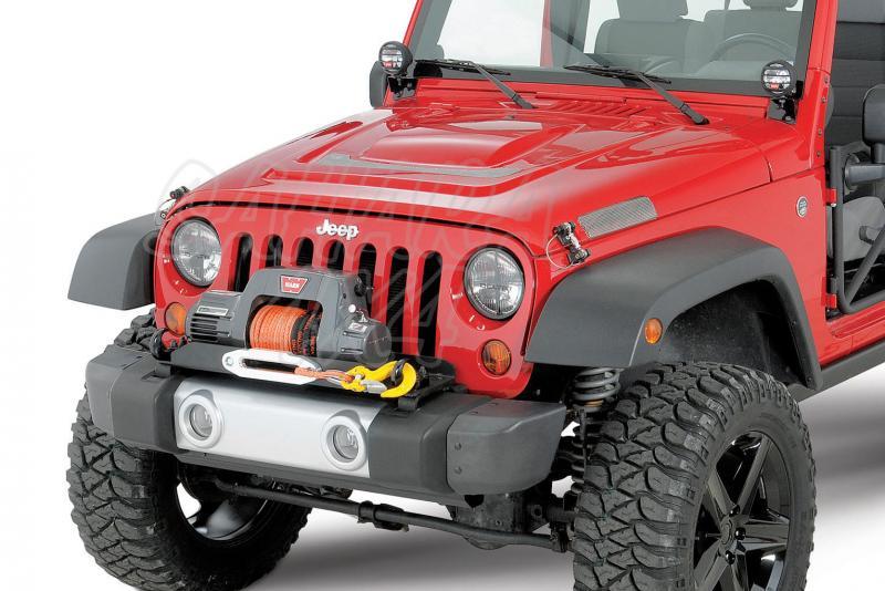 Soporte Warn de Jeep Wrangler JK 07 - Wrangler JK 07