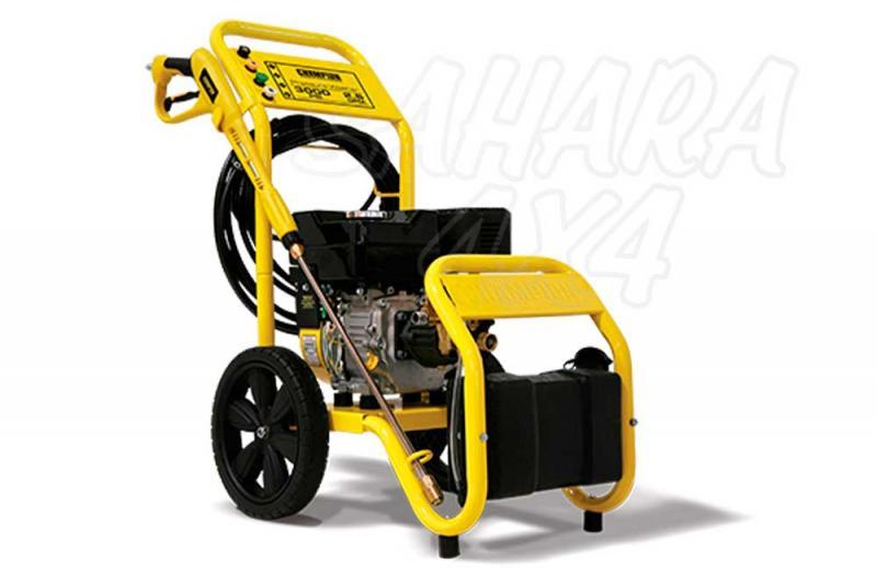 HIDROLIMPIADORA CHAMPION 3000 PSI Gasolina - La lavadora de presión a gasolina 76503 3000 PSI de CHAMPION, proporciona el poder de limpieza confiable, portable para para su hogar o local de trabajo.