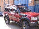 Baca Gran Expedición Toyota Land Cruiser HDJ80 - PORTA EQUIPAJES MOD. AFRICANO INTEGRAL