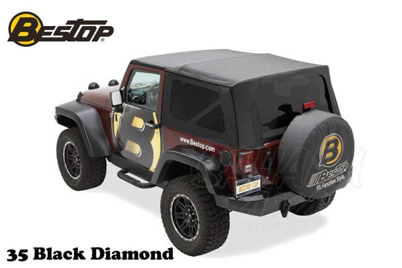 Capota Bestop recambio para Jeep Wrangler JK 10-17
