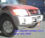Soporte de Cabrestante oculto Mitsubishi Montero DID - Fabricado en Acero.