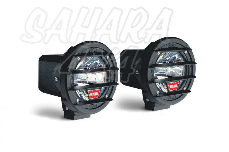 Pareja de Faros Warn W400D-HID Larga Distancia - Pareja de Faros con luz xenon.