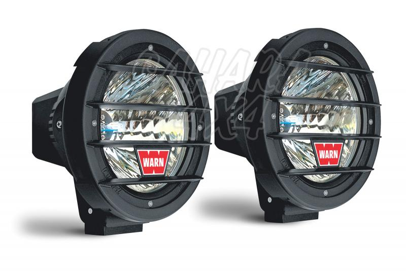 Pareja de Faros Warn W700D-HID Larga Distancia - Pareja de Faros con luz xenon.
