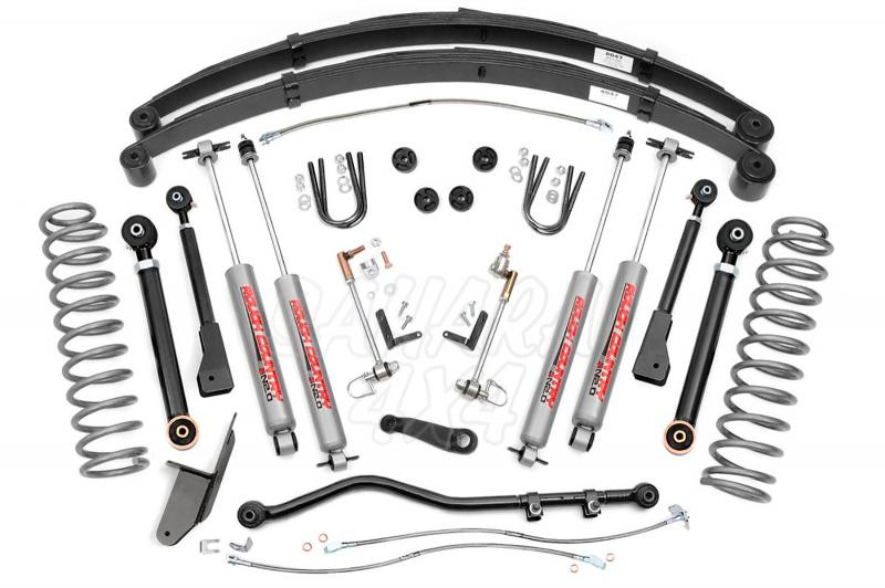 Kit Cherokee XJ +4,5 , 11.5 cm X Series - Jeep Cherokee XJ  - Rough Country