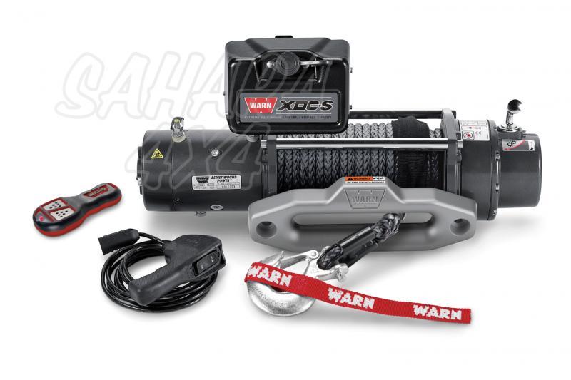 Cabrestante Warn XDC-S 9.5 12v - 4310 Kg. caja de relés compacta y cable sintethico