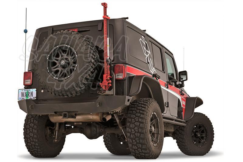 Paragolpes trasero ELITE Warn de Jeep Wrangler JK 07 - Wrangler JK 07