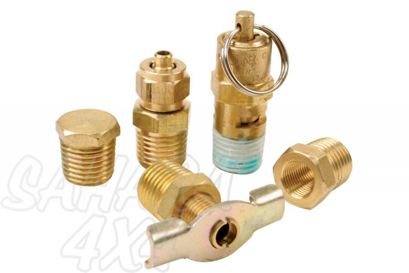 Viair Air Locker Tank Port Fittings Kit - 200 PSI Rated Systems