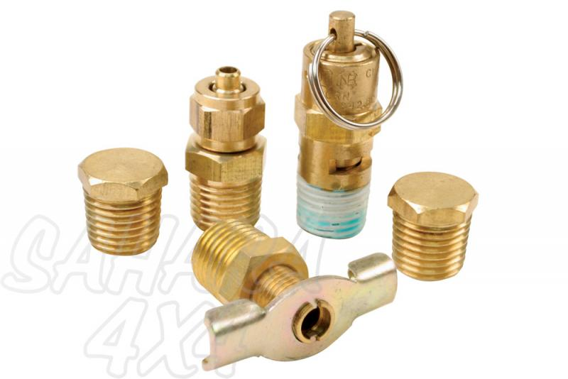 Viair Tank Port Fittings Kit (5 pcs.) -