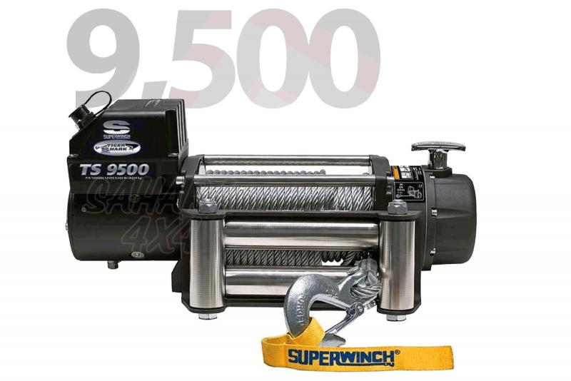 Superwinch Tiguer Shark 9.500lbs  4.309 Kg  - Cabrestante electrico a 12v