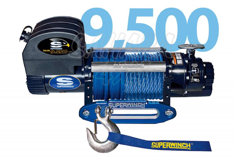 Superwinch Talon 9500 4.309 Kg  - Cabrestante electrico a 12v o 24v.