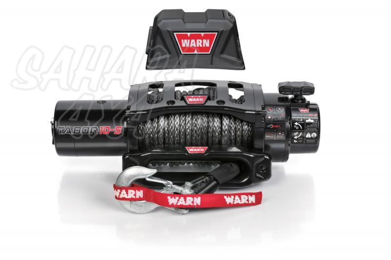 Cabrestante Warn TABOR 10k 12v Cable Sintético - 4.536 kg. Caja de reles separada. Fabricado por WARN, Homologable CEE.