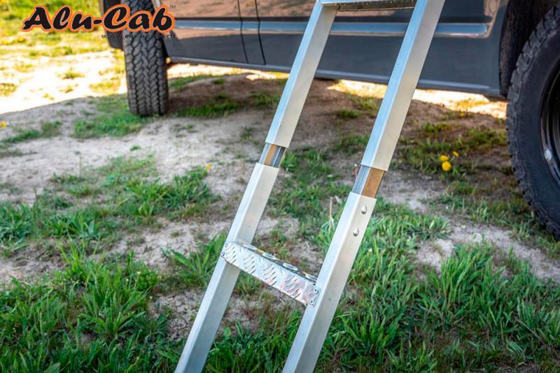 Extension de escalera para tienda Alu-Cab