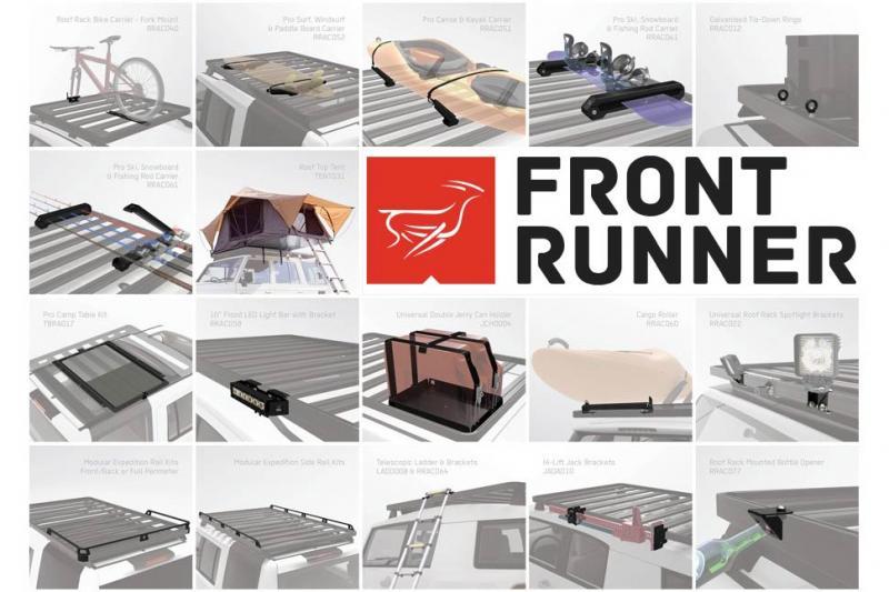 ACCESORIOS para Baca Front Runner Extreme Slimline II - Pulsa para ver todos los accesorios que puedes poner a tu baca Frontrunner