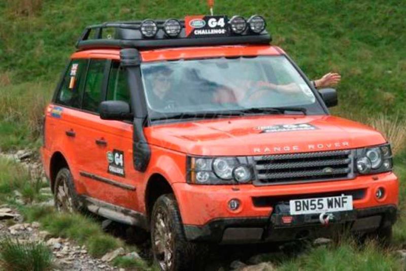 Snorkel Tipo G4 Para Range Rover Sport  - 2005-2009