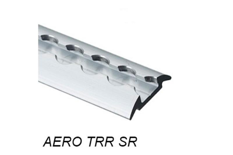 Perfil Aero sin punteras media caña