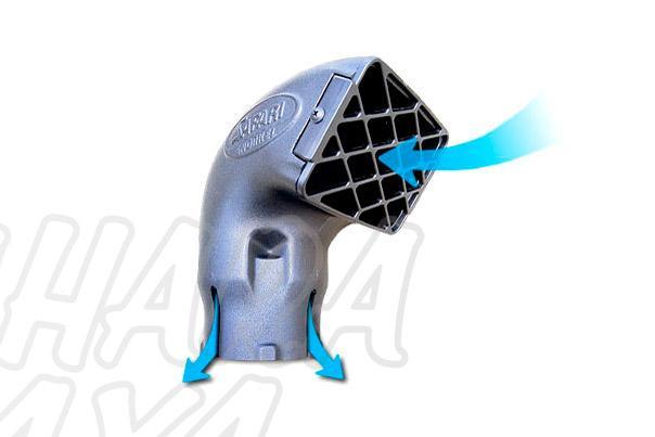 Recambio Cabeza Safari Snorkel - Parte superior del snorkel ( varios diametros )...