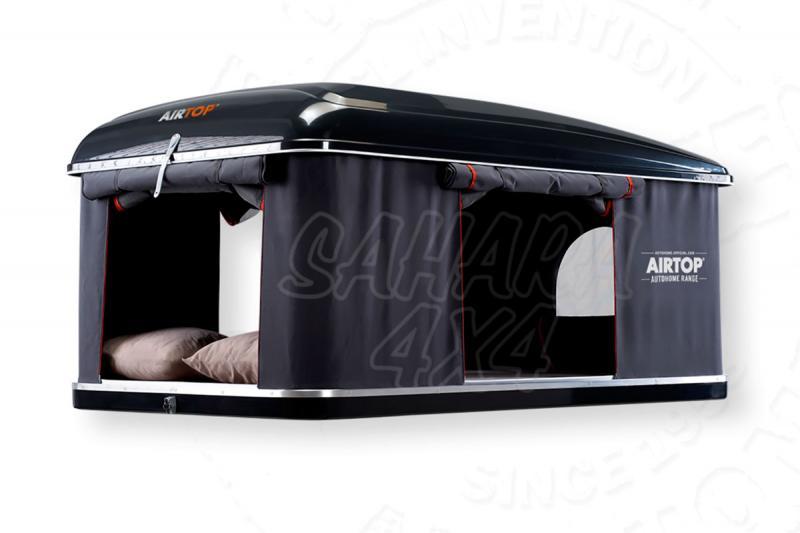 Tienda de techo Maggiolina Airtop Mediana (Black Storm) - Medidas: 1.45mts x 2.10mts, recomendada para 2 adultos + 1 niño.