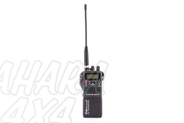 Walkie Alan 42 AM/FM 27 Mhz Multi Standard  - Ideal para excursiones.El mejor portátil CB del mercado