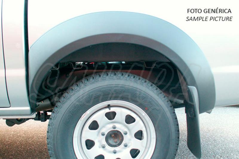 Aletines de rueda para Ford Ranger/Mazda B-2500 1999-2006 - Fabricados en Plastico ABS, valido para doble cabina.