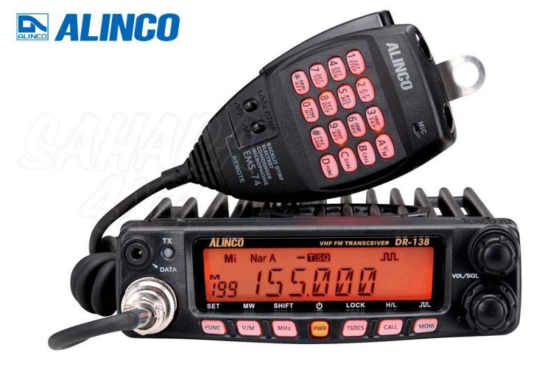 Emisora VHF Alinco DR-138 - Emisora de 2 mts , VHF