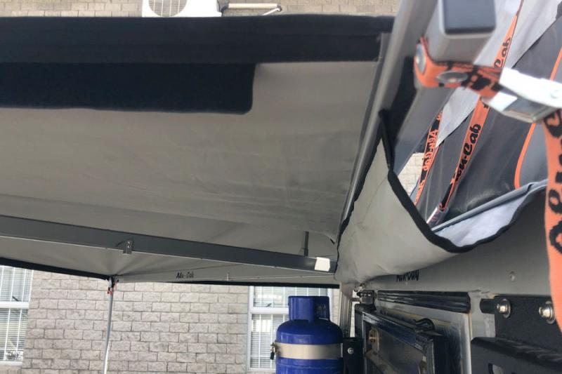 Kit de vierteaguas para toldo lateral Alu-Cab 270º -