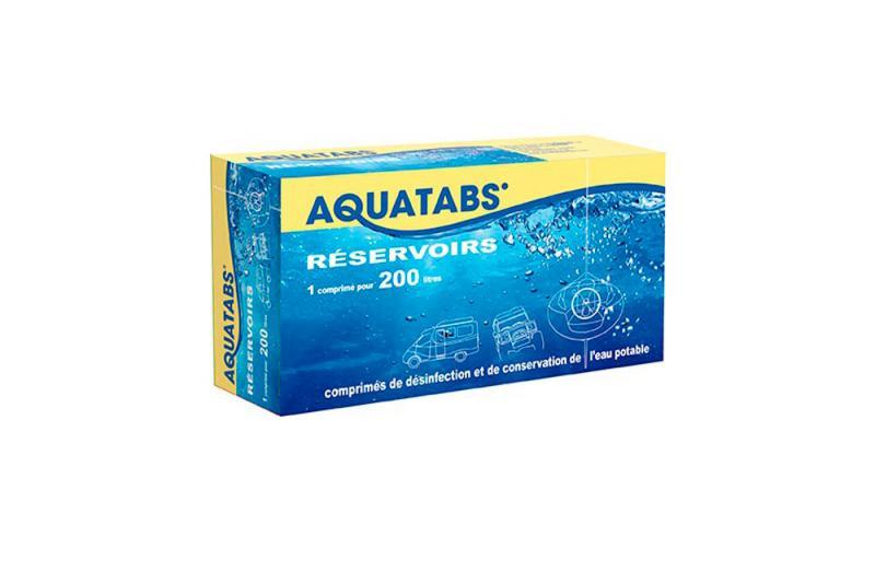 Comprimidos efervescente para tratamiento y desinfeccion del agua potable Aquatabs