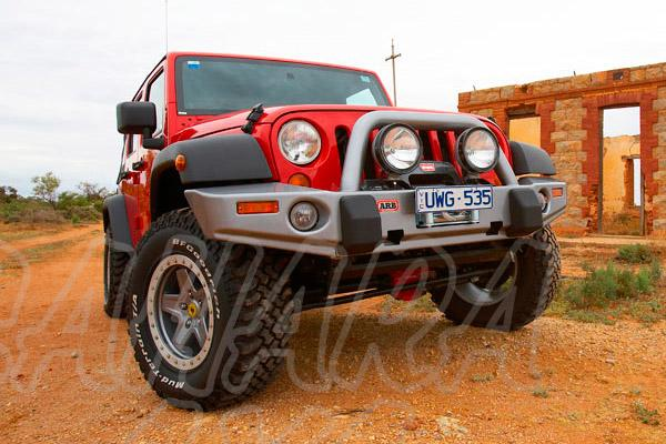 Winch Bar ARB Delantera Jeep Wrangler JK  - Jeep Wrangle JK modelo desde 2006