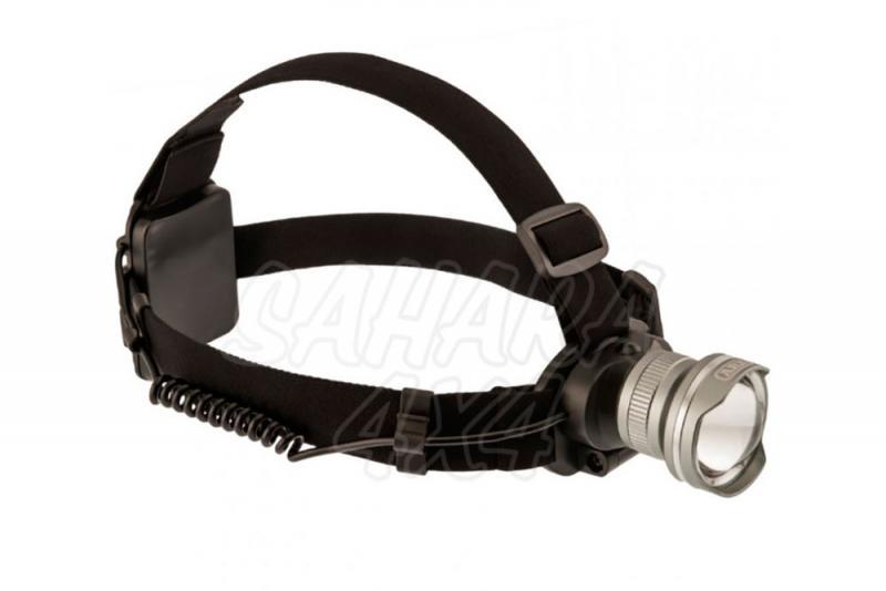 Linterna Frontal LED ARB - Fabicada en Aluminio, 300 Lumens, 5W y 3 posiciones
