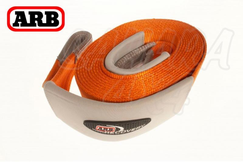 Slinga traccion ARB (Naranja) - Eslinga de arrastre 4x4.