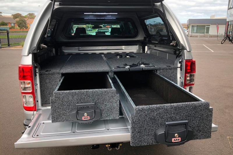 Kit de montaje para ARB Drawers Volkswagen Amarok Doble Cabina