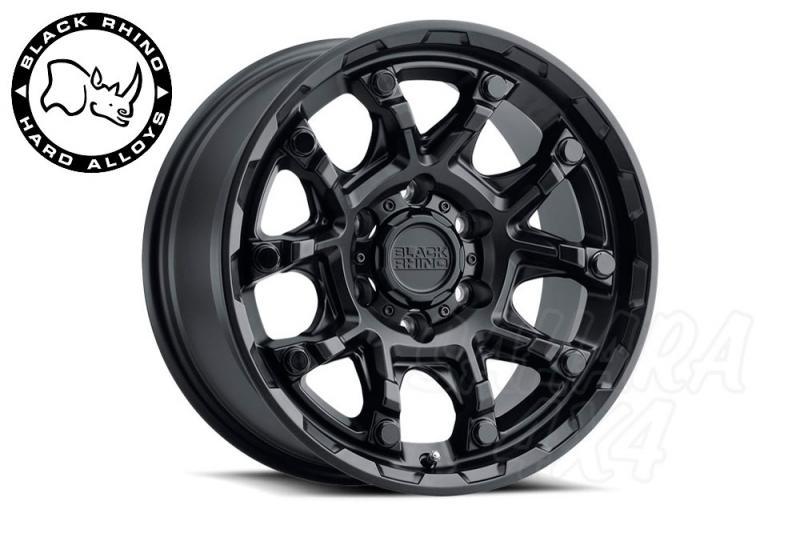 Llanta Black Rhino ARK Negro Mate 9x18 6x139.7 ET12 112.1 CB